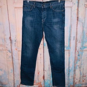 Lucky Brand men's button fly skinny jeans